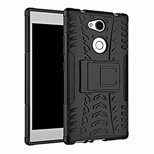 Sony Xperia L2 Case SunRemex Durable Armor with Full Body and Heavy Duty Protection and Kickstand Design for Sony Xperia L2 Phone