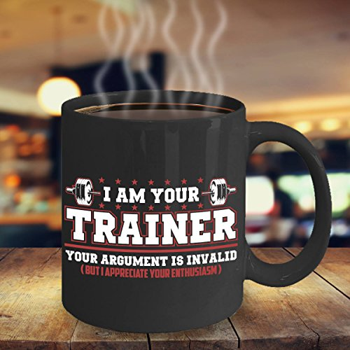 - CASURI - Personal Trainer Coffee Mug - Fitness Coach Mug - Gift for Exercise Fanatic - CrossFit Coffee Mug - Weightlifting Coffee Mug - Gift CrossFit, MUG 11oz