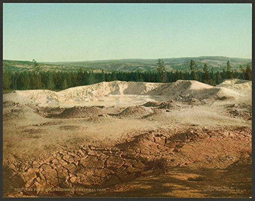 Paint Pot Yellowstone National Park - 1902 Photo The Paint Pot, Yellowstone National Park Location: , Wyoming, Yellowstone National Park