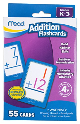 Mead Addition Flashcards Grades 63034