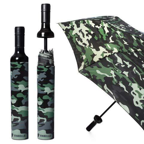 VINRELLA Wine Bottle Umbrella,Camo