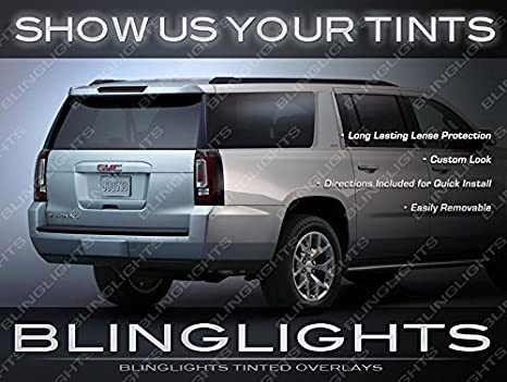 Tinted Tail Light Protective Film Covers for Chevrolet Suburban all years