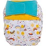 GroVia Reusable Hybrid Baby Cloth Diaper Hook & Loop...