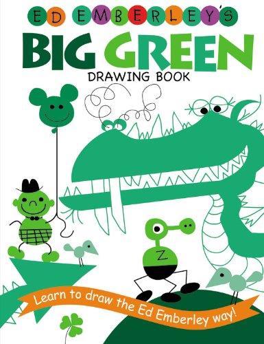 Ed Emberley's Big Green Drawing Book - Book  of the Ed Emberley Drawing Books