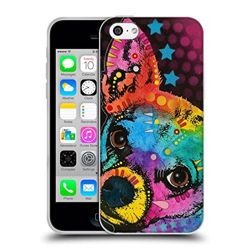 Officiel Dean Russo Chihuahua Pop Chiens Étui Coque en Gel molle pour Apple iPhone 5c