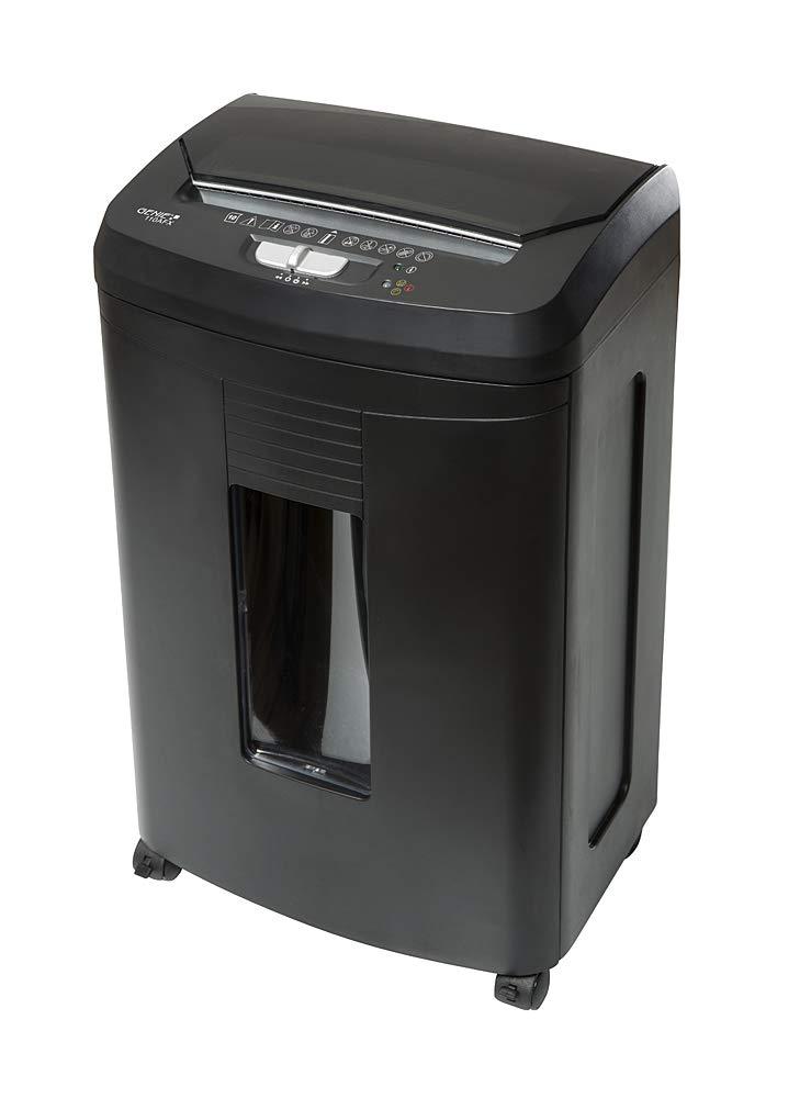 Genie 110 AFX Hochsicherheits Aktenvernichter mit automatischem Einzug, bis zu 100 Blatt, Partikelschnitt - Shredder (Sicherheitsstufe P-4), inkl. Papierkorb - geeignet für Datenschutz nach neuer Vero