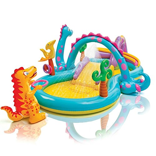 Kids Inflatable Pool. Small Kiddie Blow Up Above Ground S...