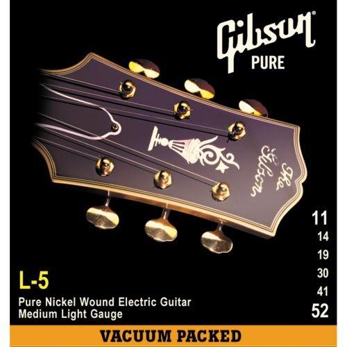 UPC 711106531991, Gibson Gear SEG-900L Coated Steel Electric Guitar Strings, Jazz Light