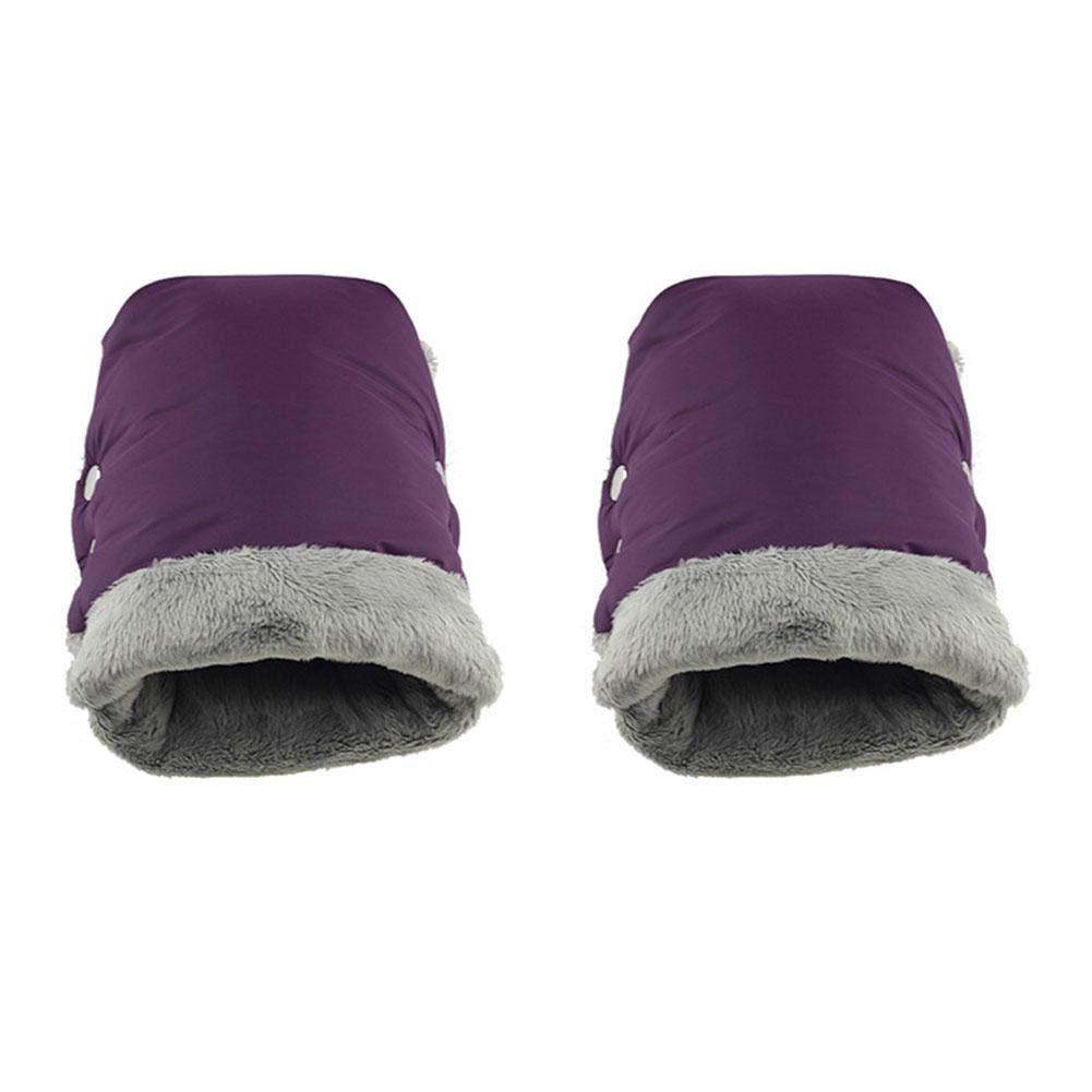 flyvirtue Cochecito de bebé guantes cálidos, guantes impermeables, productos de exterior materno infantil.