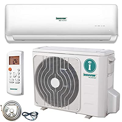 Innovair Air Conditioner Inverter Ductless Wall Mount Mini Split System Heat Pump Full Set 29~37 SEER 230V