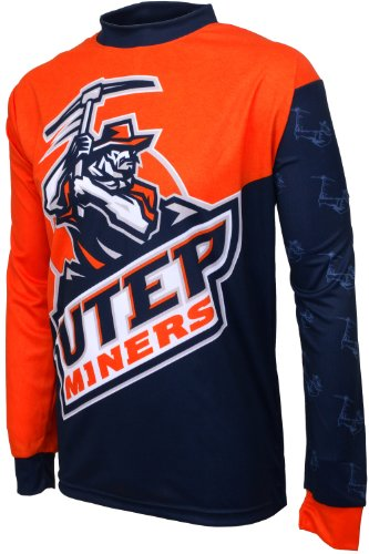 - NCAA Texas El Paso Miners Mountain Bike Cycling Jersey (Team, X-Large)