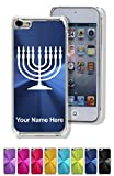 Case For Iphone 5C - Menorah - Personalized Engraving Included