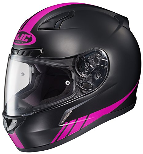 HJC CL-17 Streamline Full-Face Motorcycle Helmet (MC-8F, X-Small)