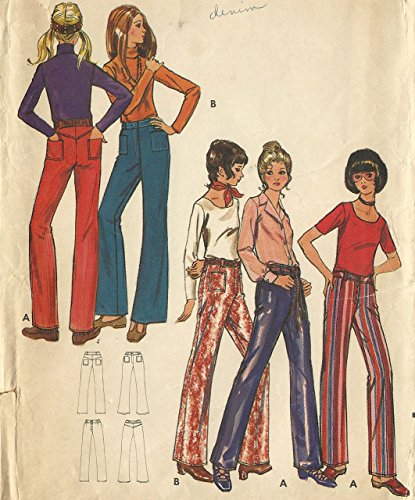 1970's Flared Pants - 9