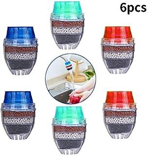 SHOP-STORY – Filtro purificador de Agua de carbón con Boquilla emboitable en un Grifo diámetro de 4 Niveles 16 A 19 mm.: Amazon.es: Hogar