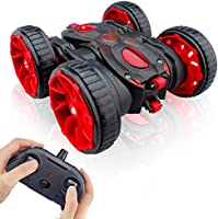 MaxTronic Toy Car Christmas Birthday Gift for 4-12 Years Old Kids - 360° Flip Remote Control Stunt RC Car, 4WD 2.4Ghz...