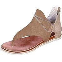 MoneRffi Mujeres Sandalias Planas Sandalias Casuales Zapatos