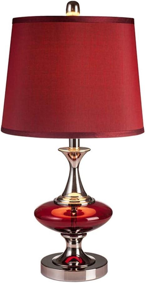 Lámpara Mesa Lámpara Escritorio - Rojo Casarse Habitación ...