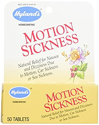 Hyland's Motion Sickness Relief Tablets, Nausea and Dizziness