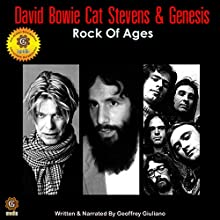 David Bowie, Cat Stevens, and Genesis Speech by Geoffrey Giuliano Narrated by Geoffrey Giuliano