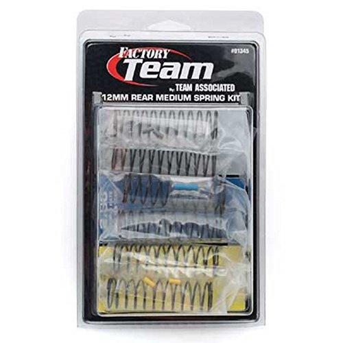 Team Associated 91345 12mm Rear Medium Spring Kit (3-Pair)