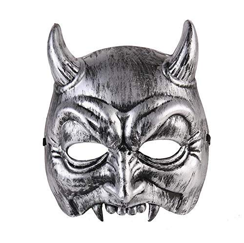 Grimace Mask Cosplay Full Face Halloween Demon Mask Party Prop Masquerade Devil Mask Decor Supplies -