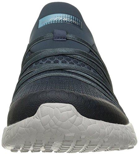 Nero Sport Donna Burst Grey Sneaker Skechers wOpxgSqx