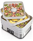 Hamilton Beach 32100A Food Dehydrator, Gray