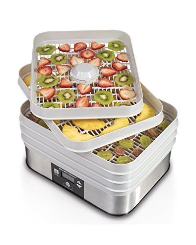 A Digital Food Dehydrator, 5 Tray, Gray ()