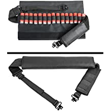 Ultimate Arms Gear 12 Gauge/Shotgun 15-Round Shotshell Ammo Padded Swivel Stud Sling, Black Harrington & Richardson HR