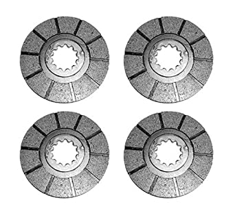 Amazon com: 1975463C2 Pack of 4 Brake Discs Made to Fit Case