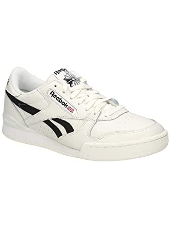 6aa1ff5fb8e60 Amazon.com  Reebok Powerphase Mens Sneakers White  Clothing