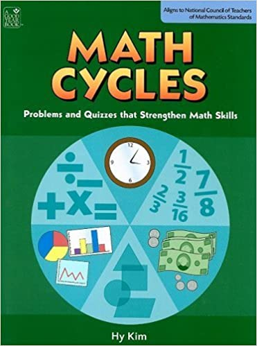 Book Math Cycles: Problems and Quizzes that Strengthen Math Skills, Grades 3-4 by Hy Kim (2008)