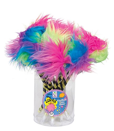 Raymond Geddes Dr. Seuss Truffula Tree Pen, 12 Pack (69384)