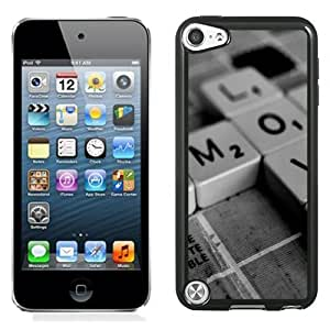 New Personalized Custom Designed For iPod Touch 5th Phone Case For Creative Keyboard Keys Phone Case Cover