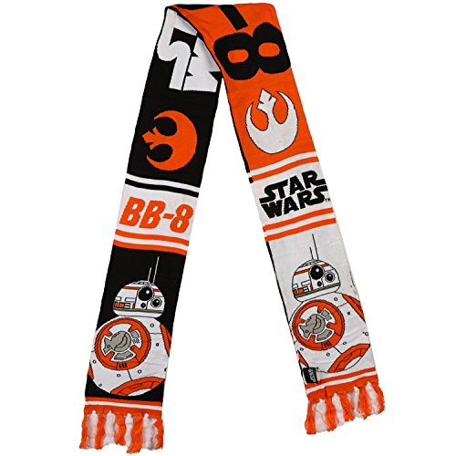 Star Wars Episode VII The Force Awakens BB-8 Jacquard Scarf