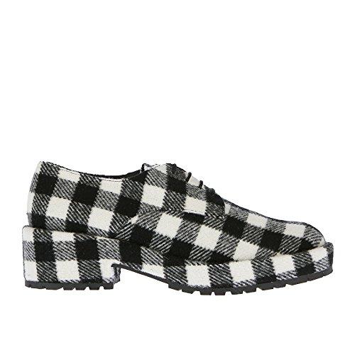 à de Lacets Femme Castañer Ville Chaussures Pour Castaner Noir Noir wIEqEgf