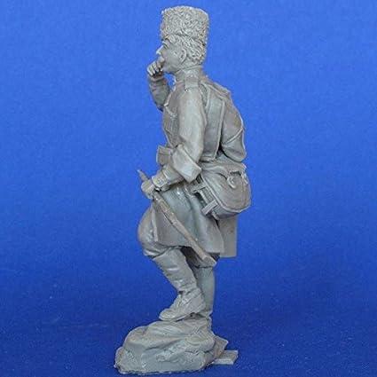 MasterClub 1:35 WWI Russian Cossack Scout w// Mosin Carbin Resin Kit #MCF35132