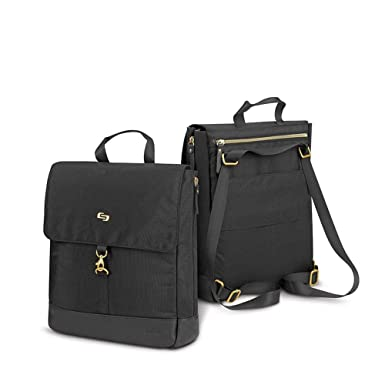 bbdf685d4370 Amazon.com: Solo New York Women's Hybrid Ladies Tote, Backpack ...