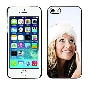 YOYO Slim PC / Aluminium Case Cover Armor Shell Portection //Christmas Holiday Sexy Hot Girl Woman 1018 //Apple Iphone 5 / 5S