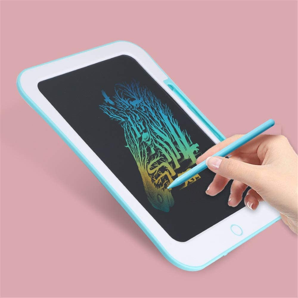 Color : Blue, Size : 10.5 inches LCD Writing Tablet 3 Pieces Childrens LCD Drawing Board Home Graffiti Board Drawing Writing Tablet
