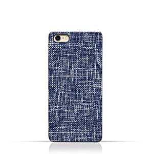 AMC Design iPhone 8 TPU Silicone Case with Brushed Chambray Pattern