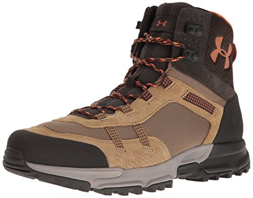 Under Armour Men's Post Canyon Mid Hiking Boot, Saddle (257)/Cannon, 9