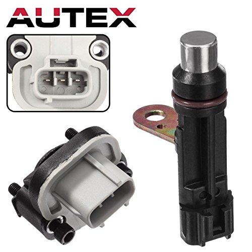 AUTEX 1pc Throttle Position Sensor (TPS) & Crankshaft Position Sensor TH190 PC284 Compatible with Dodge Dakota & Durango & Ram 1500/Jeep Commander & Grand Cherokee/Mitsubishi Raider 1999-2007 (Tps Mitsubishi)