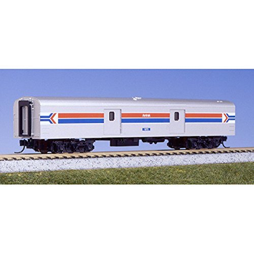 KATO N 106-3512: Amtrak Smoothside Baggage Car Phase I, 2 Car Set C: #1075, #1076 (N Scale) ()