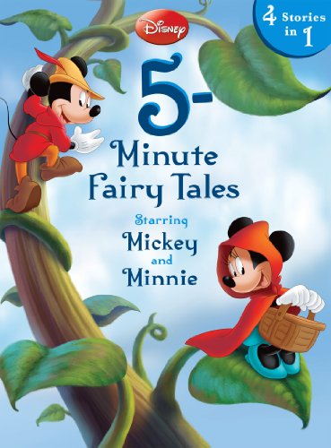 Disney 5-Minute Fairy Tales Starring Mickey & Minnie: Starring Mickey & Minnie (5-Minute Stories) -