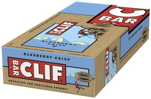 Clif Bar Energy Bar, Blueberry Crisp, 12 Count