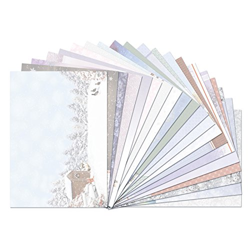 Hunkydory Snow is Falling Luxury Inserts for Cards SNOWY18-102