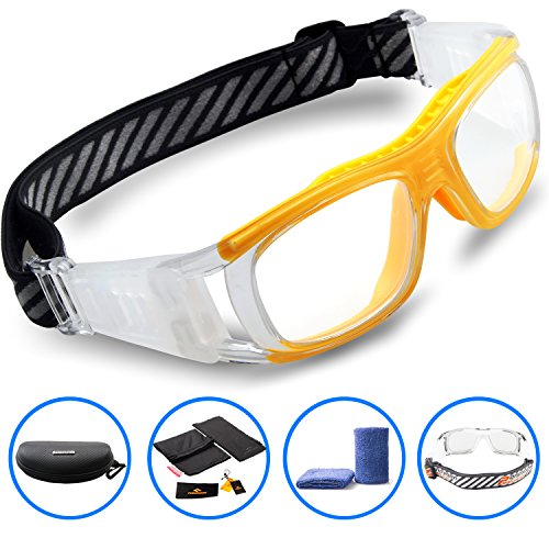 Ponosoon Sports Goggles Glasses for Basketball Football Volleyball Hockey 1809