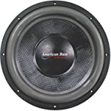 American Bass Hd12d2 Hd Series 12'' Dual 2 Ohm Car Audio Subwoofer Sub
